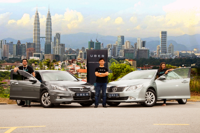 Uber invasion in Malaysia