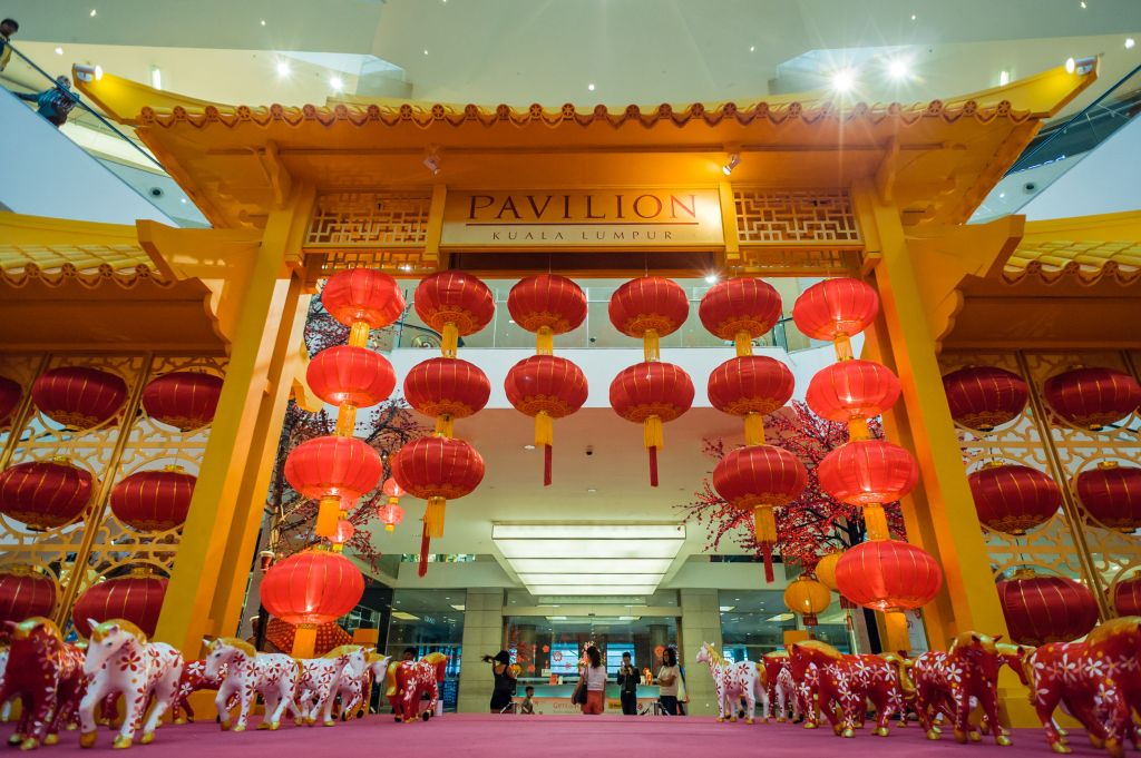 CNY in Pavilion, Malaysia