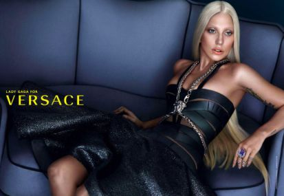 Lady Gaga for Versace